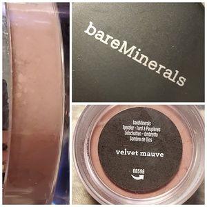 Bareminerals eye shadow color Velvet Mauve